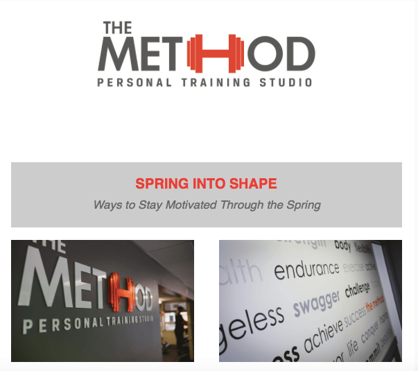 Spring into shape with durham personal trainers at Method Gym
